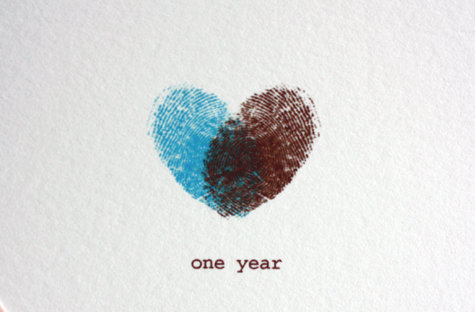 Поздравление парню на год как мы вместе