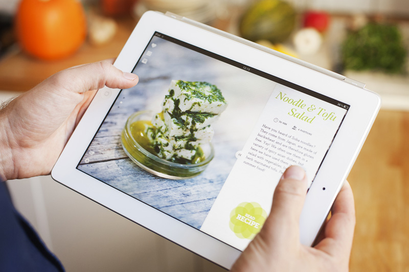Green Kitchen Ipad App