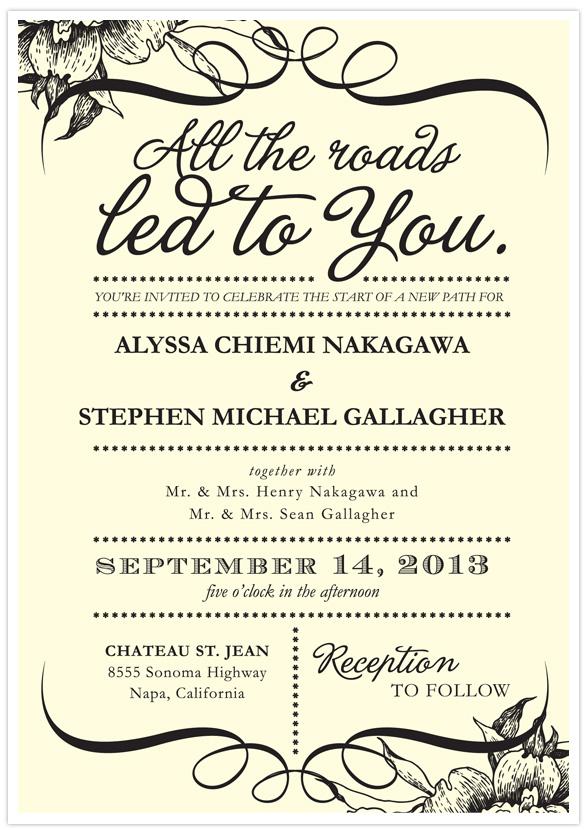 Wedding Invite Template 82 Best Wedding paper divas