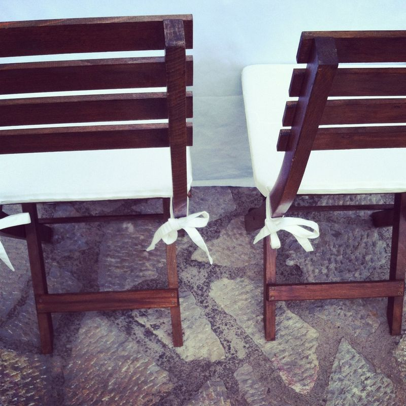 Wedding-chairs